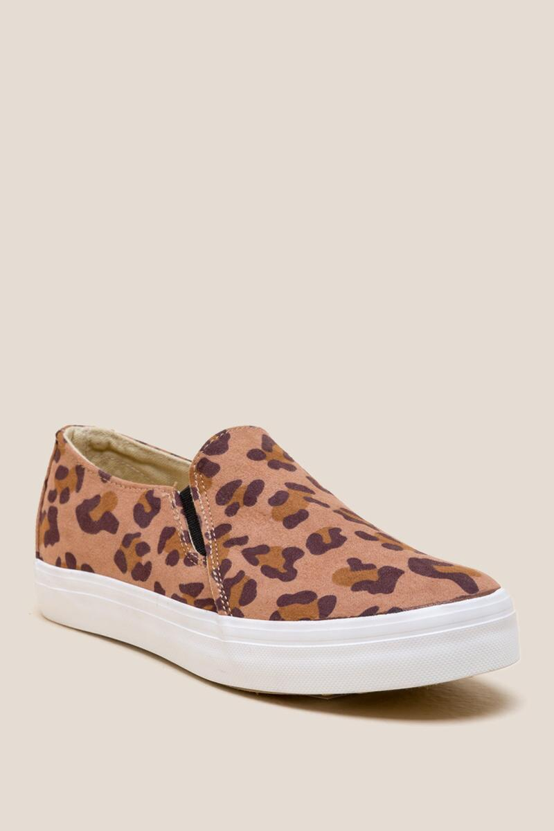 Restricted Vanity Leopard Slip On Sneaker