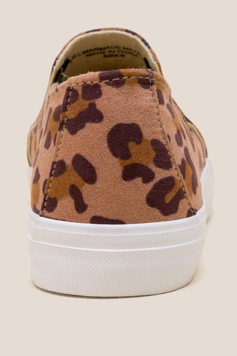 Restricted Vanity Leopard Slip On Sneaker-  leop-clback