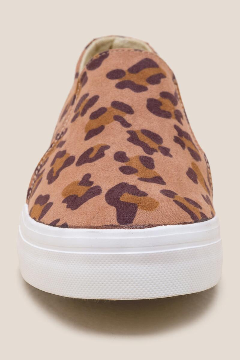Restricted Vanity Leopard Slip On Sneaker-  leop-clfront
