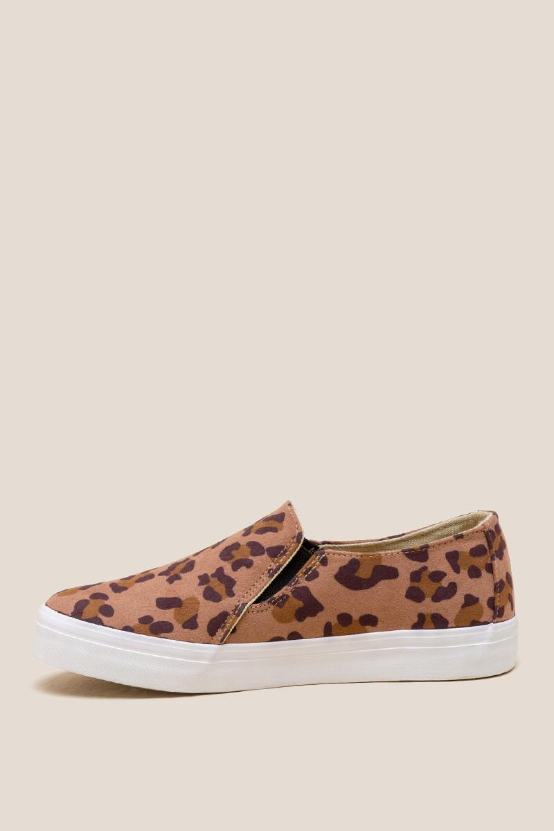 Restricted Vanity Leopard Slip On Sneaker-  leop-clleft