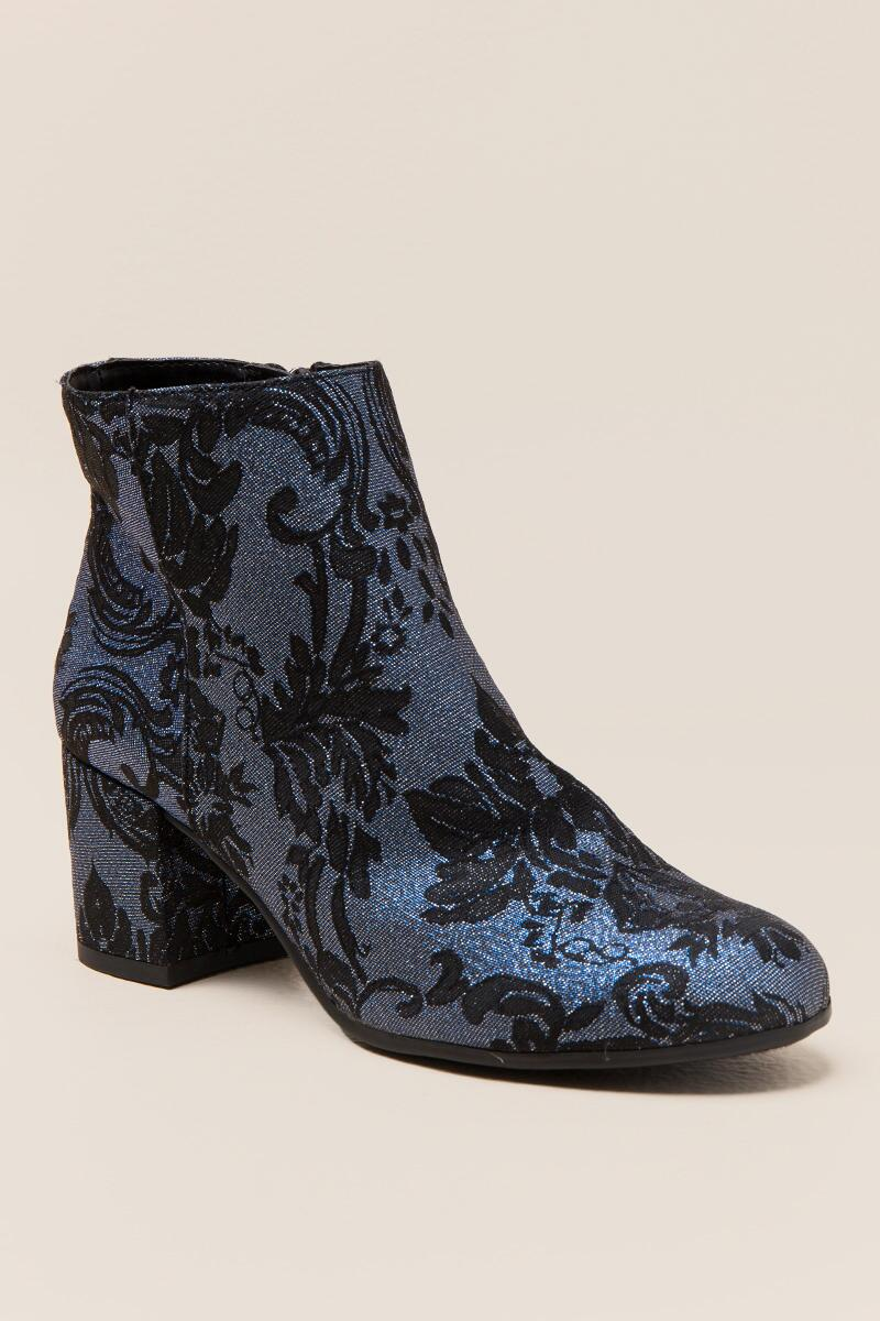 Vera Floral Ankle Boot