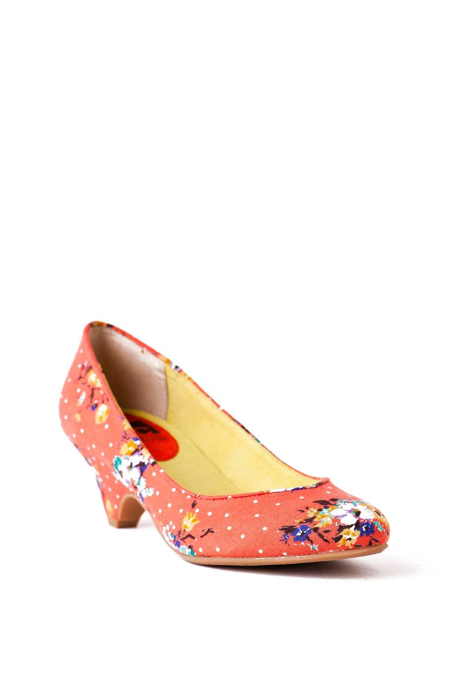 BC Footwear Shoes, In the Winners Circle Floral Heel