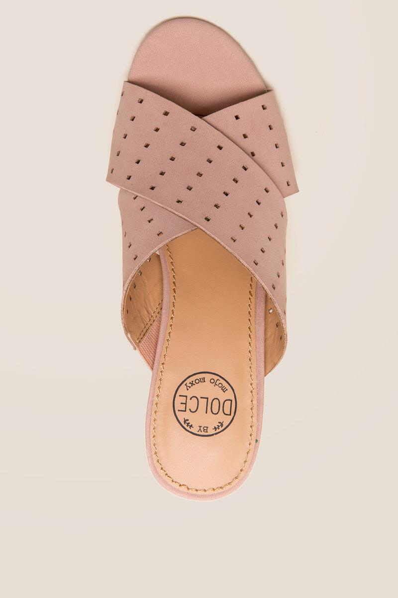 Dolce by Mojo Moxy Wonder Mule-  blush-cltop