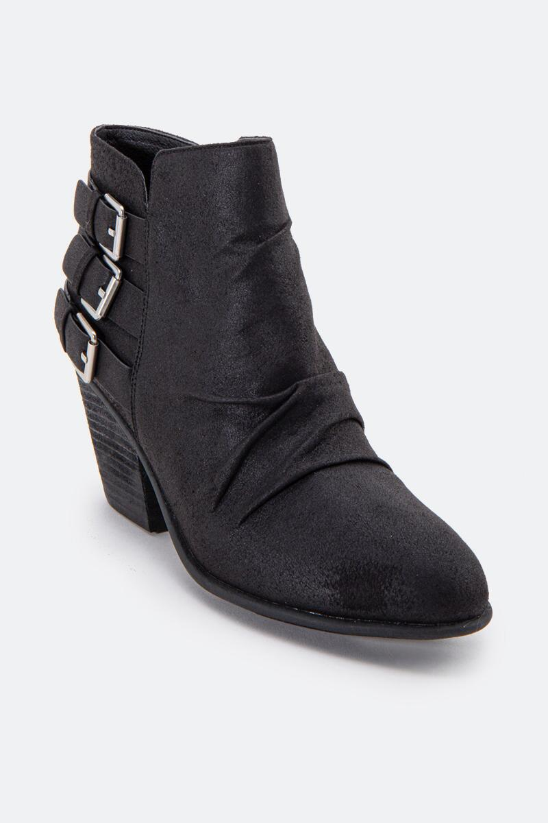 Report Yora Buckle Ankle Boot-  blk-cl