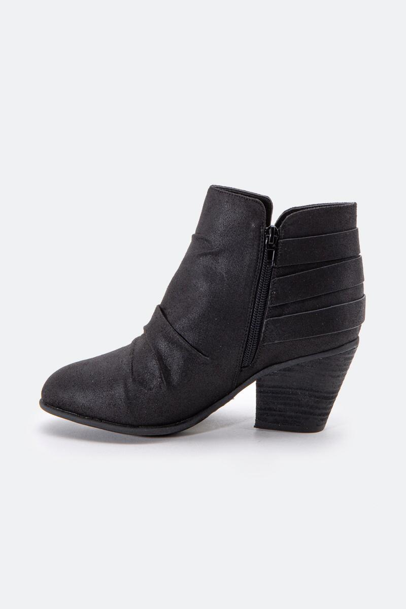 Report Yora Buckle Ankle Boot-  blk-cl3