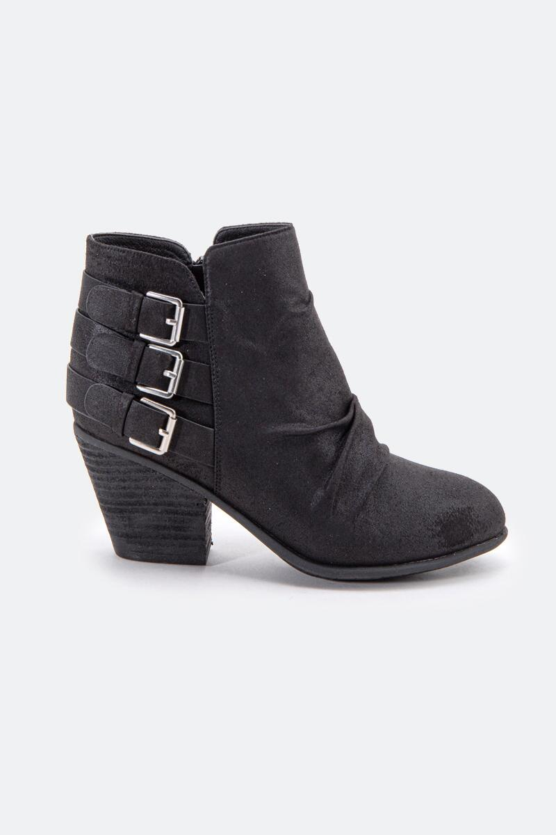 Report Yora Buckle Ankle Boot-  blk-cl4