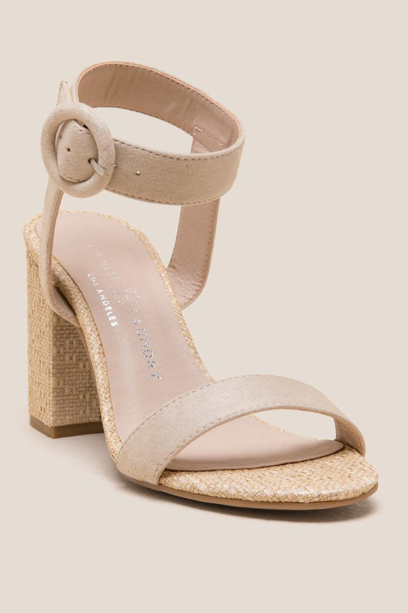 Chinese Laundry Belmont Heel-  nude-cl