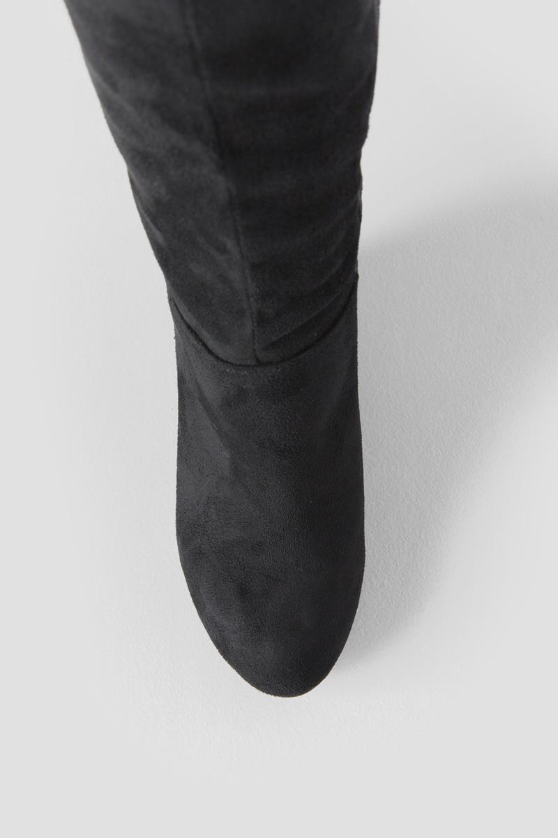 Chinese Laundry, Unforgettable Wedge Over the Knee Boot-  blk-cltop