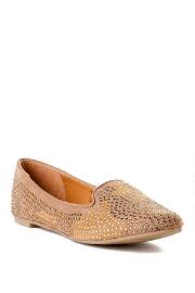 Quinn Shoes, Zoey Studded Smoking Slipper