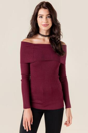 Darcie Off-The-Shoulder Sweater