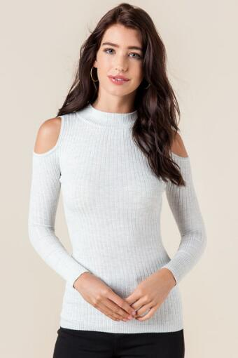Lucie Cold Shoulder Sweater
