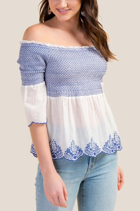 Josie Off the Shoulder Blouse