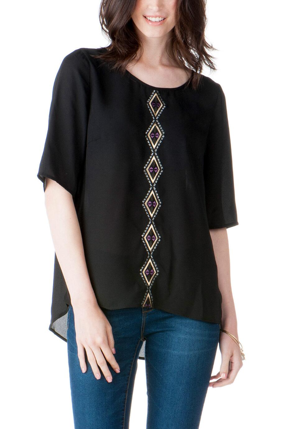 Sedalia Embroidered Top
