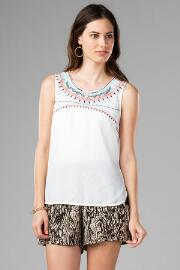 Pocatello Embroidered Tank