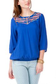 Bayshore Embroidered Top