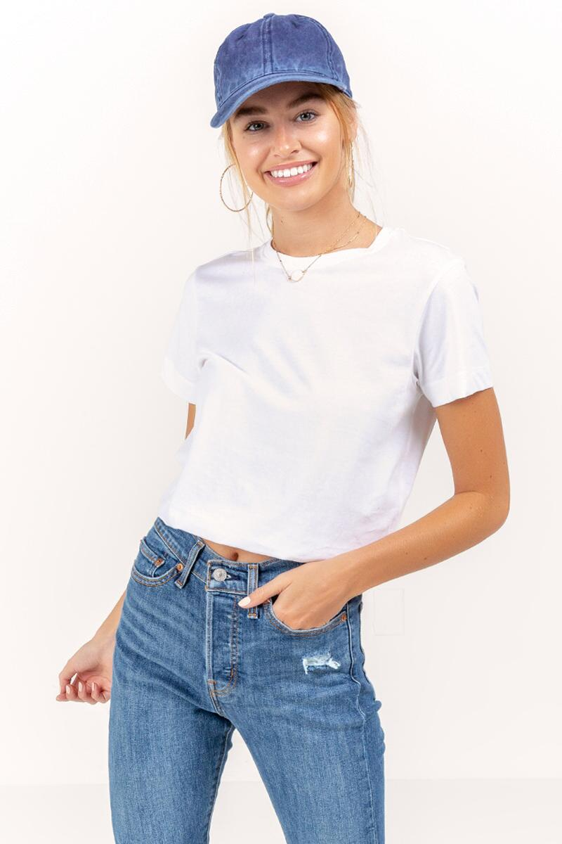 Alicia Cropped Tee