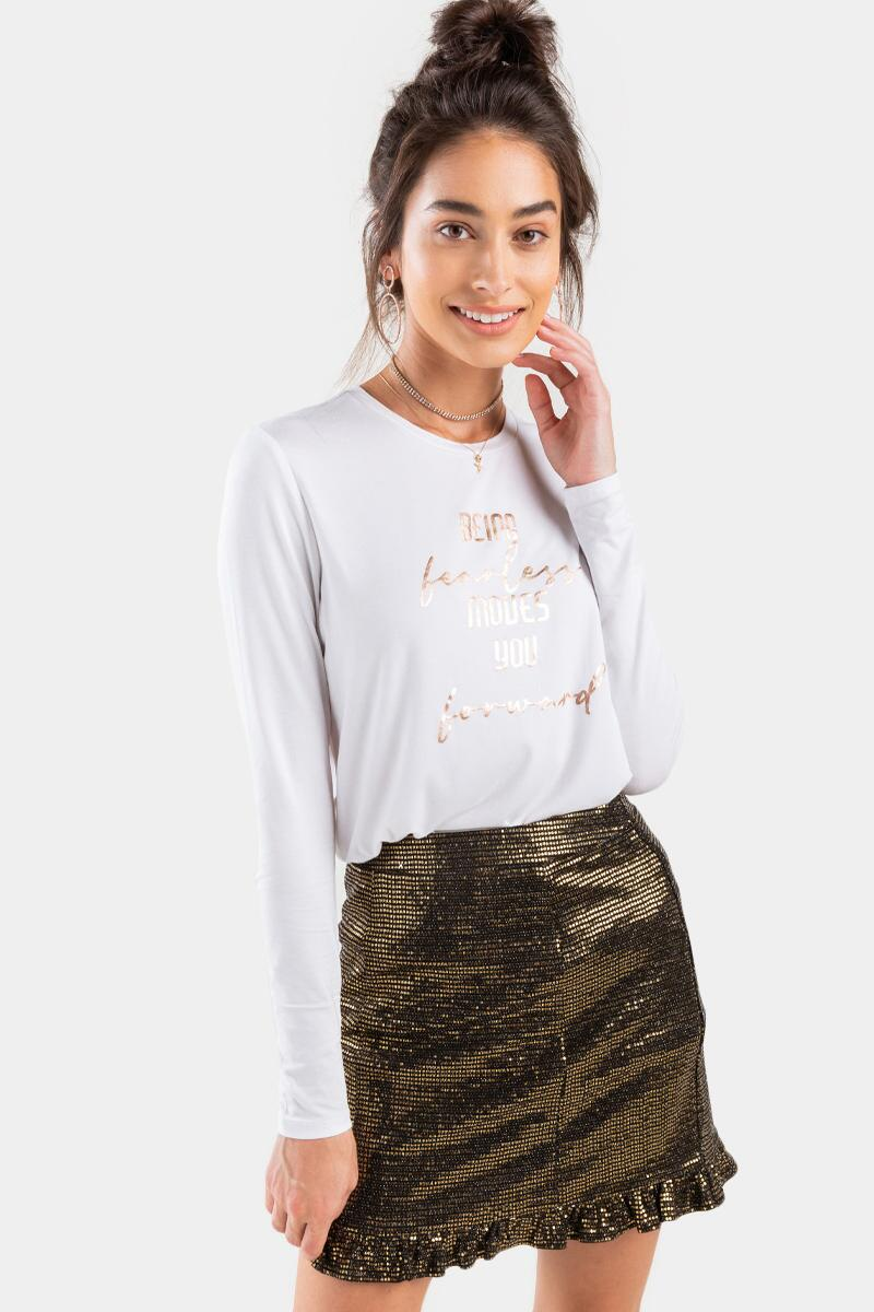 Moves You Forward Foil Tee