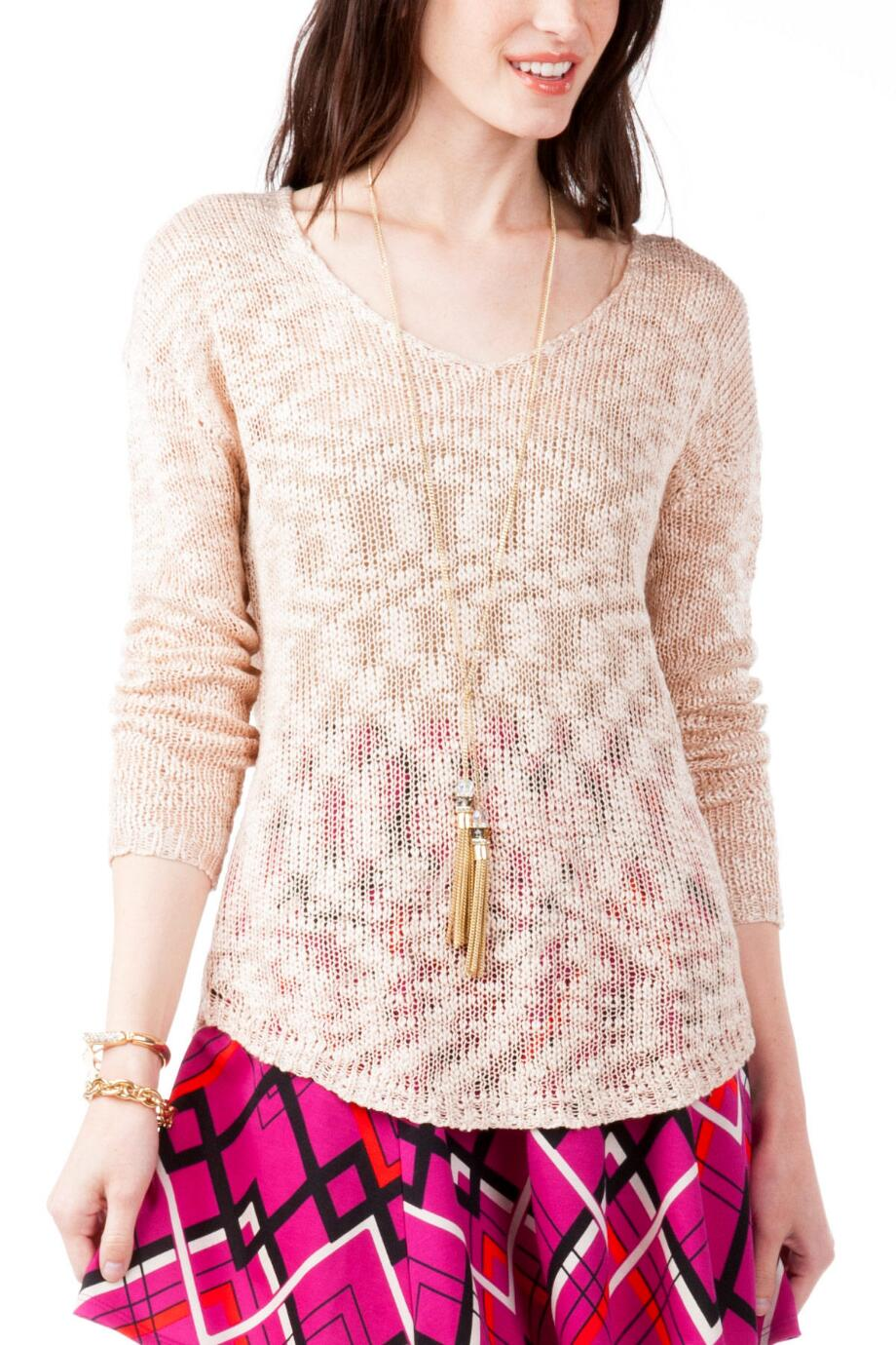 Quinn Lightweight Pullover Sweater