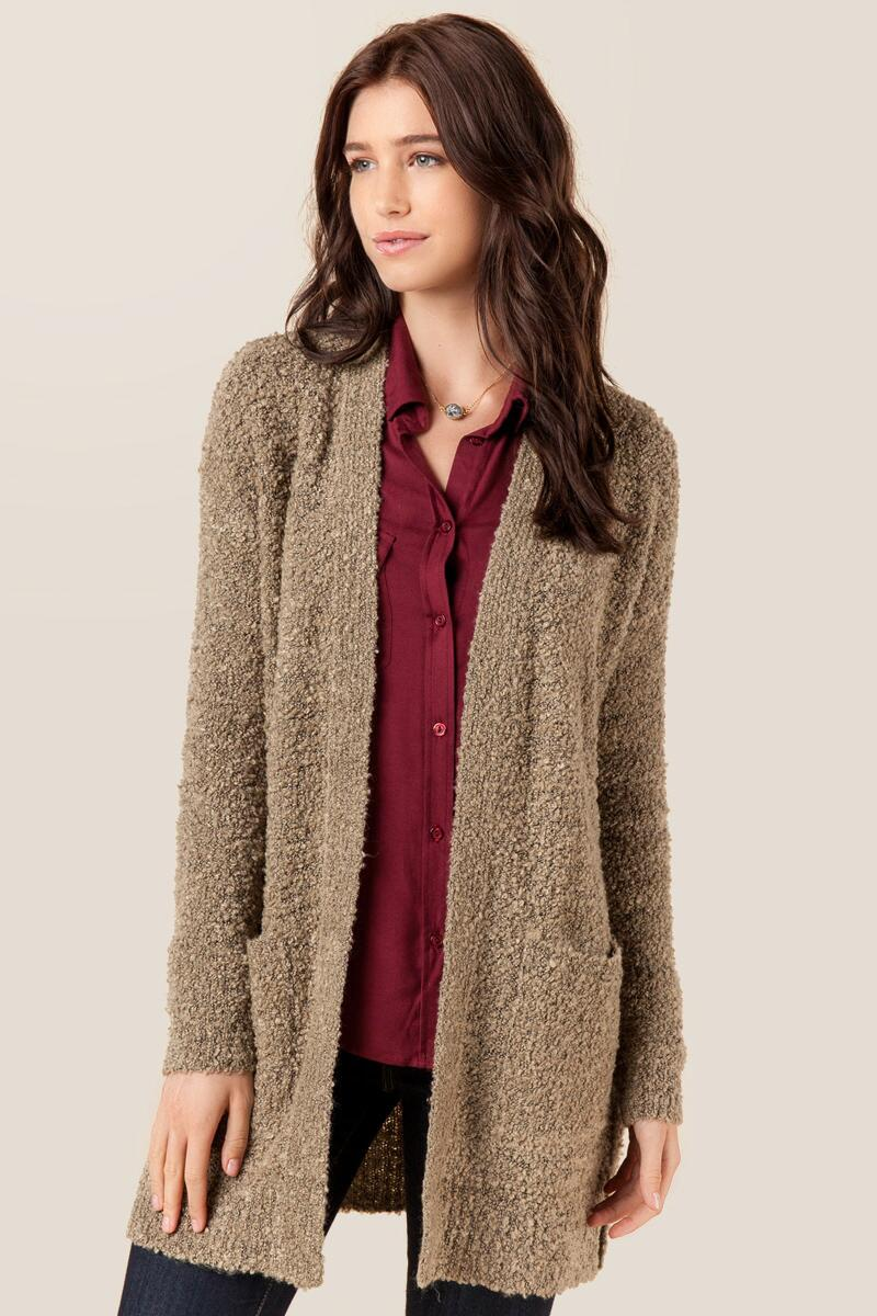 Hawley Solid Cardigan Wrap