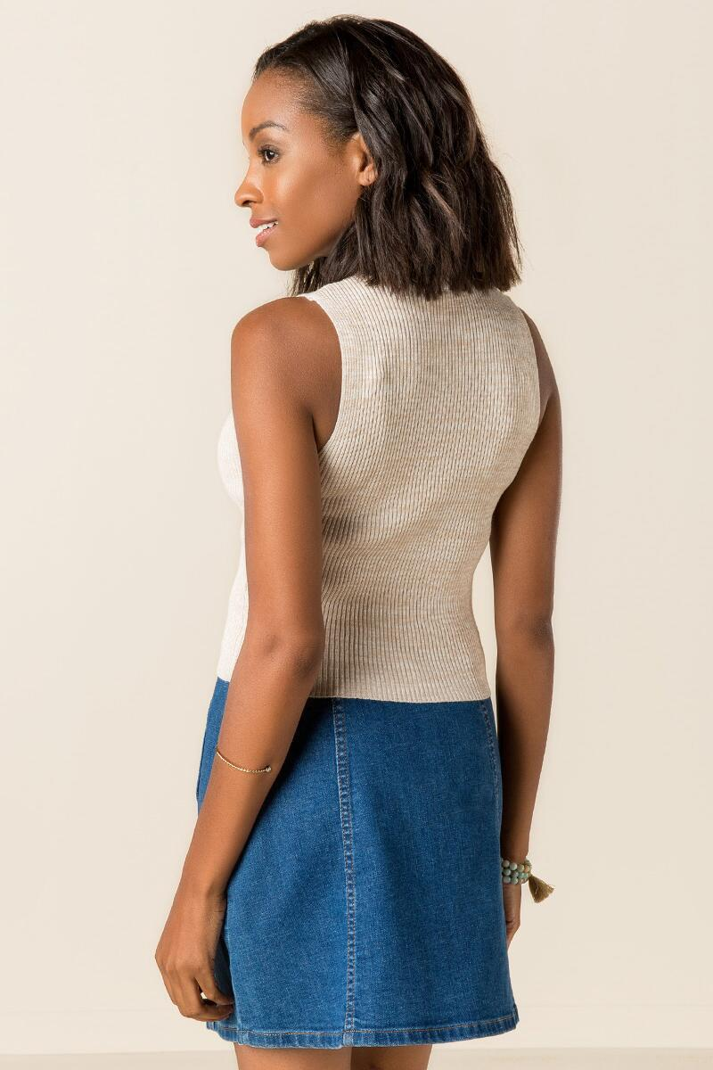 Aubree Ribbed Crop Tank-  hthot-clback