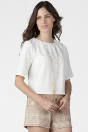 Quinn Boxy Crop Top