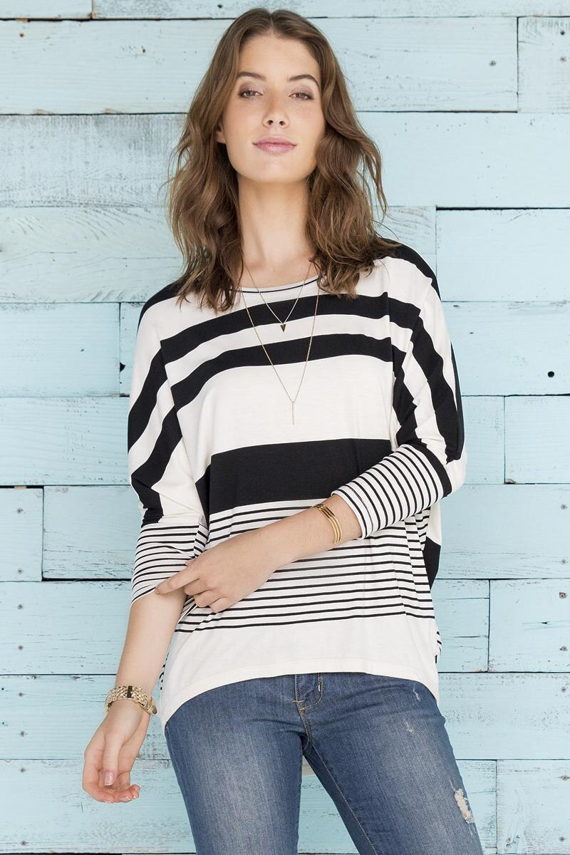 Cordova Striped Tee