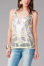 Jun & Ivy Sequin Tank