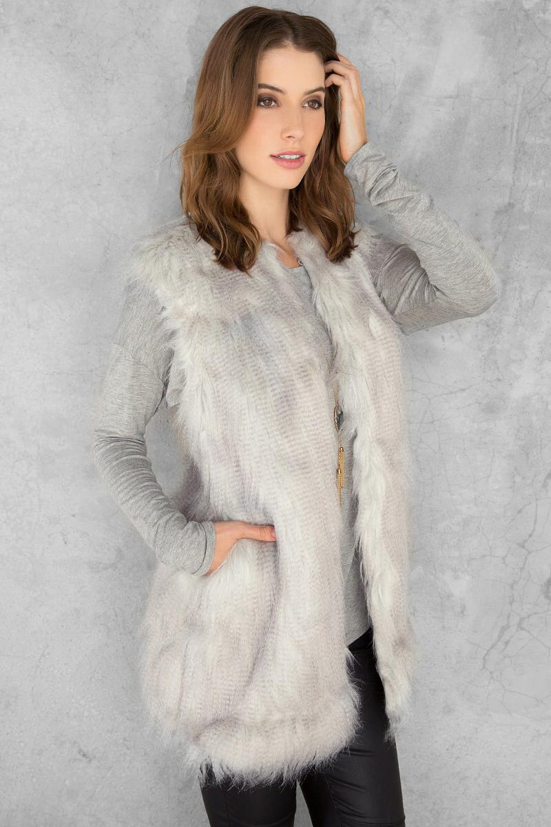 Breckenridge Faux Fur Vest