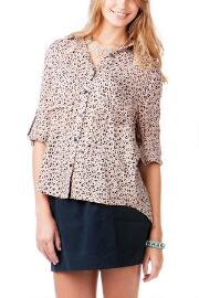 Candela Animal Print Blouse