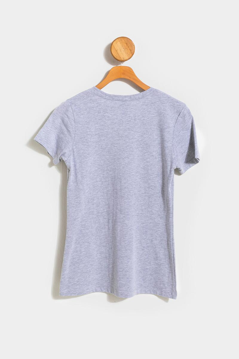 Let's Stay In Tonight Lounge Tee- Heather Gray 2