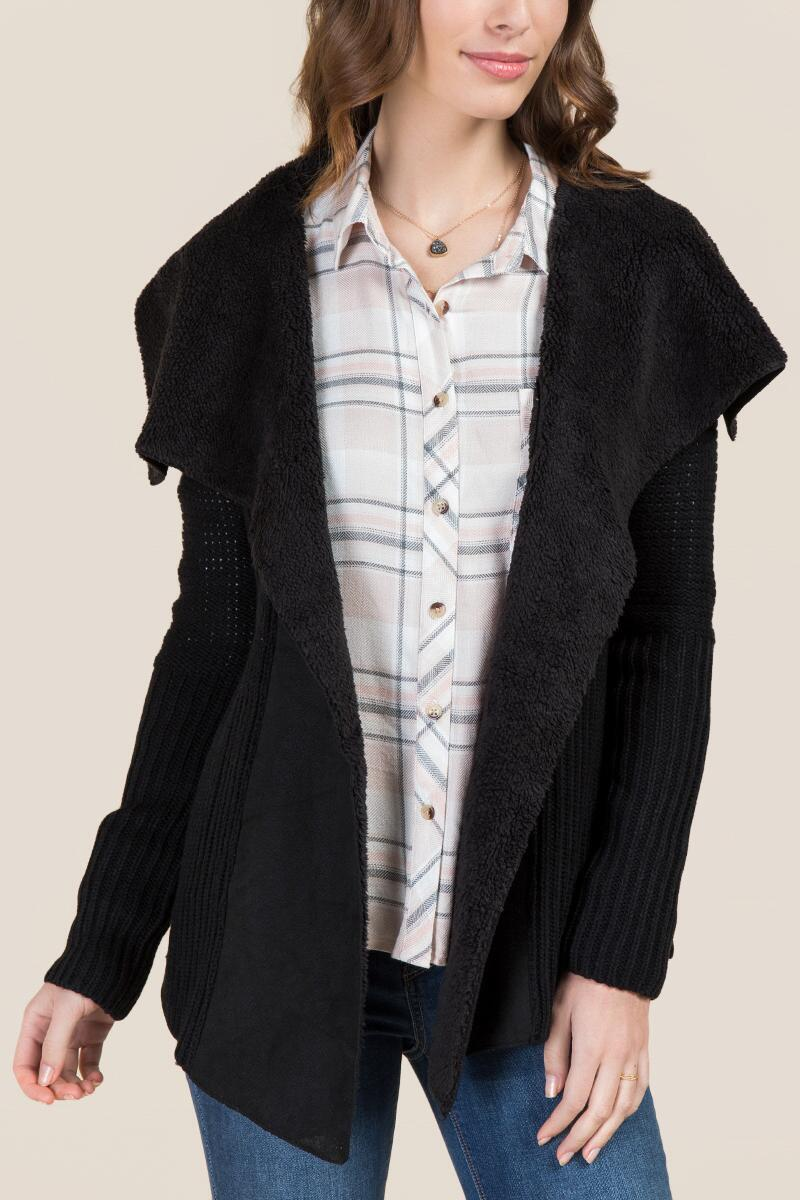 Kaylene Shearling Sweater