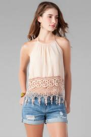 Castella Crochet Crop Top
