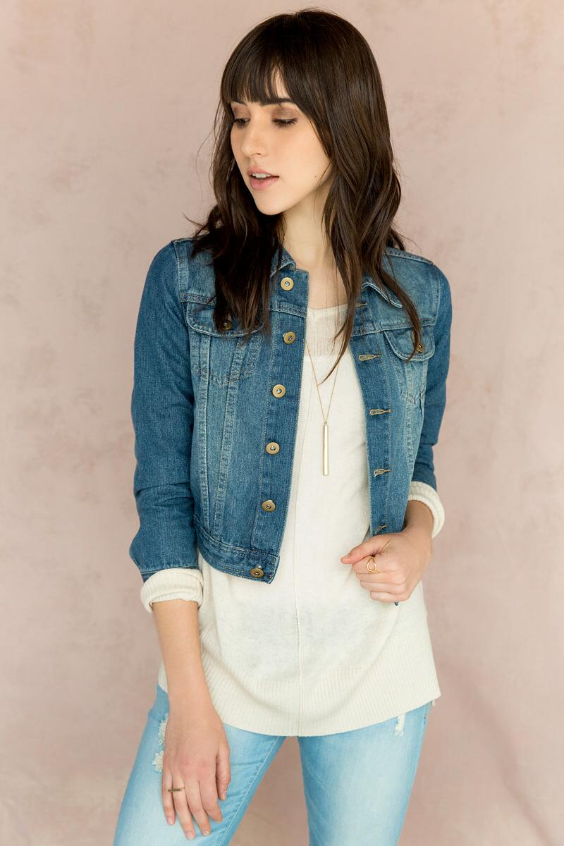 Jun & Ivy Classic Denim Jacket