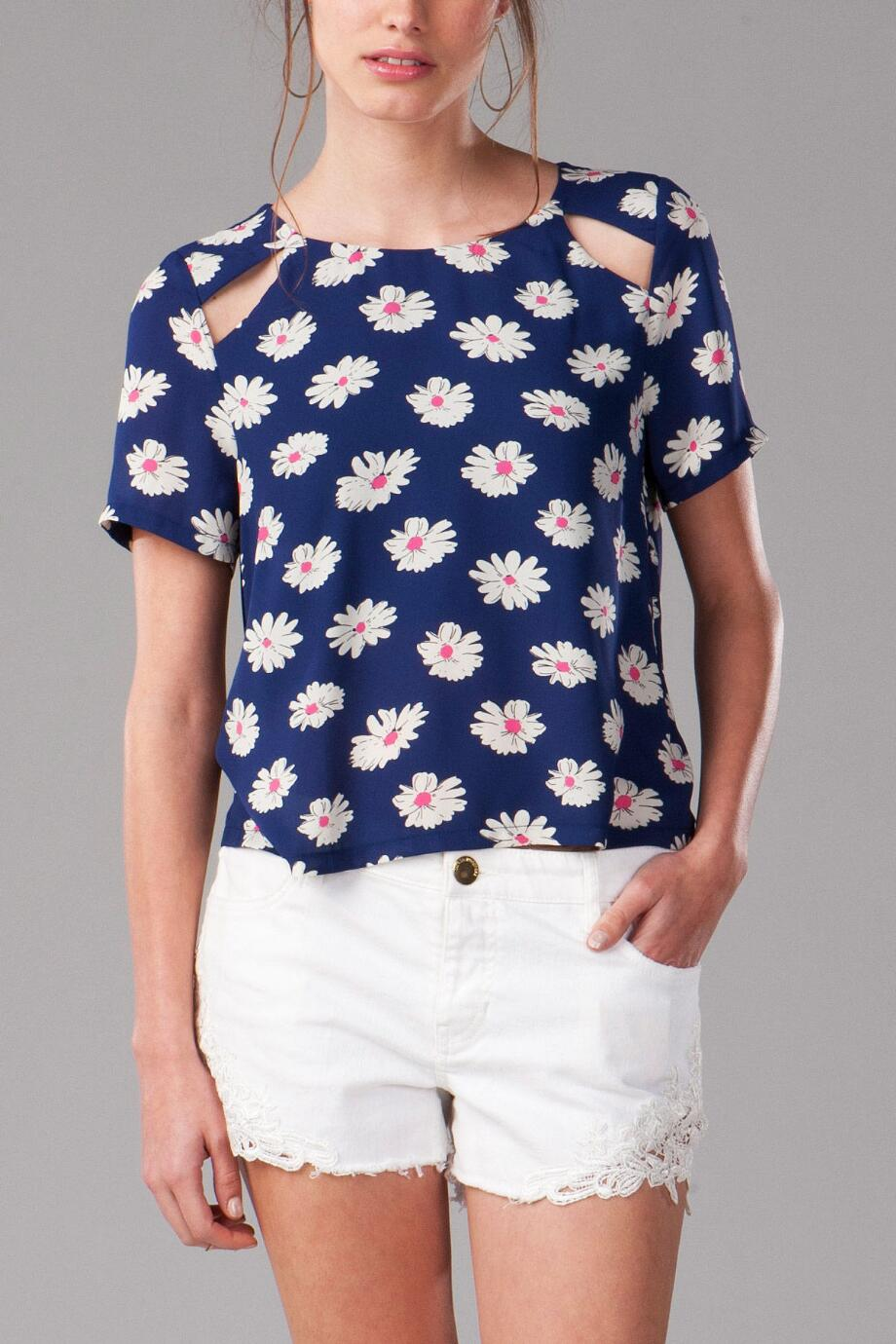 Tarrallton Floral Crop Top