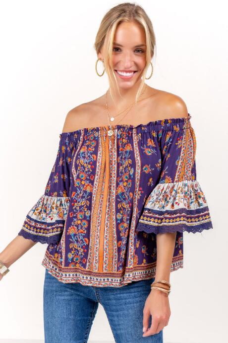 Sophie Off The Shoulder Blouse