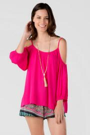 Azalea Cold Shoulder Blouse