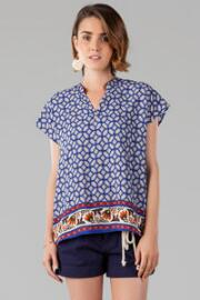 Antonina Printed Top