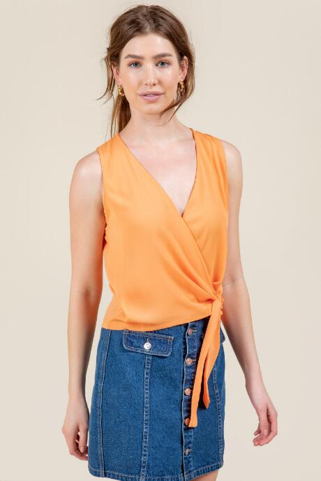 Bailey Side Tie Tank Top