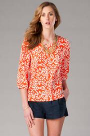 Caravel Printed Blouse