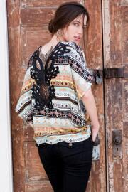 Vallejo Printed Top