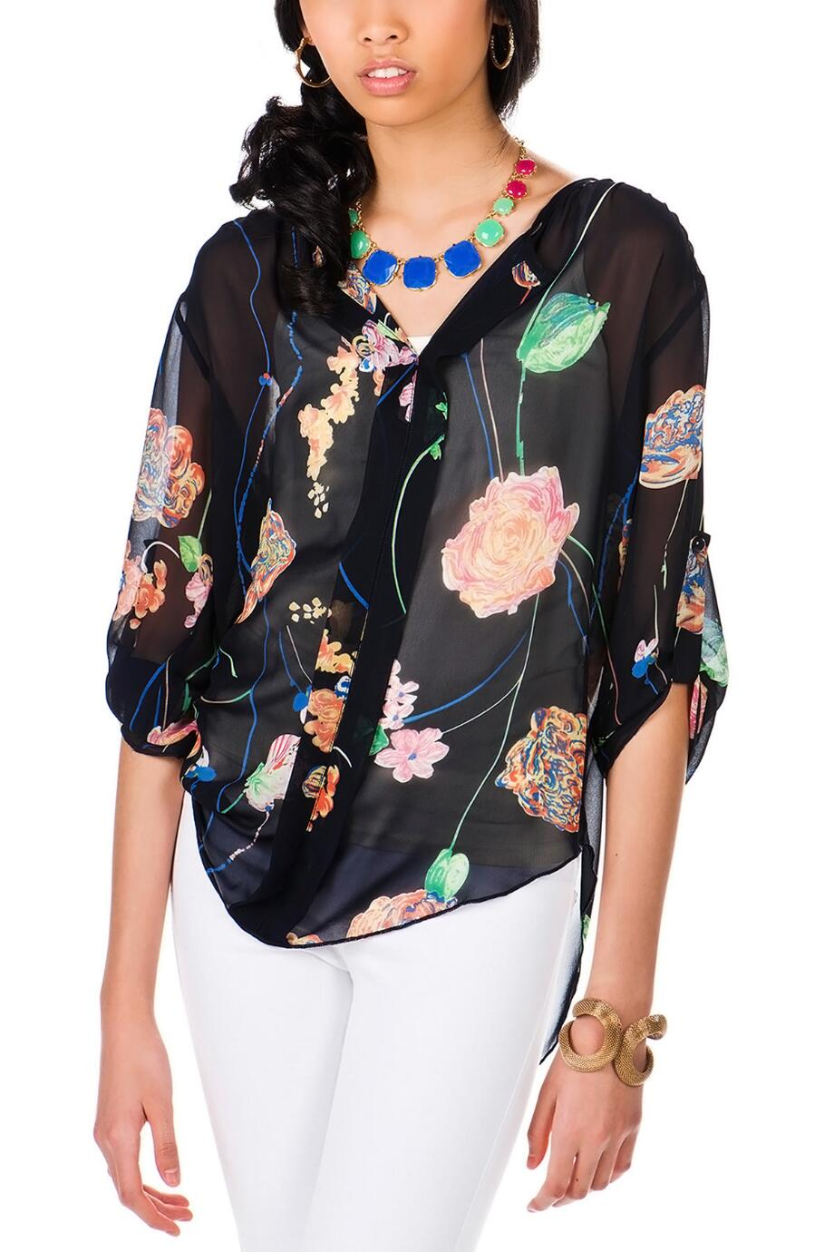 Haight-Ashbury Floral Top