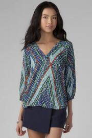 Carranza Printed Blouse