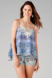 Palmetto Embellished Tank