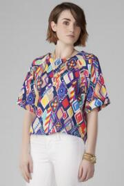 Palatka Printed Top