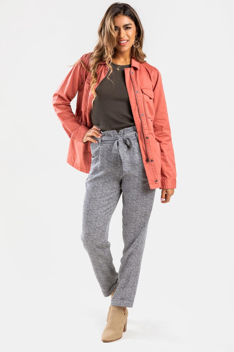 Allie Casual Jacket-Rose 2