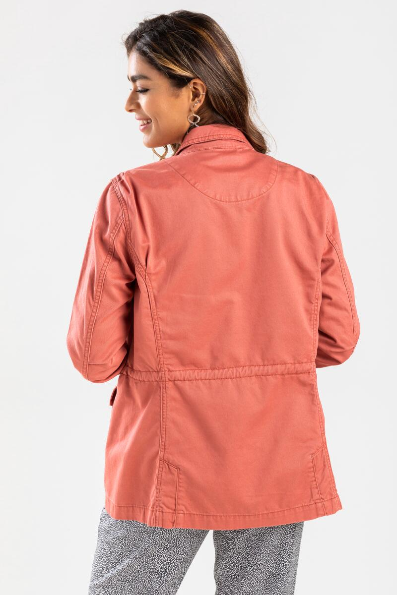 Allie Casual Jacket-Rose 3