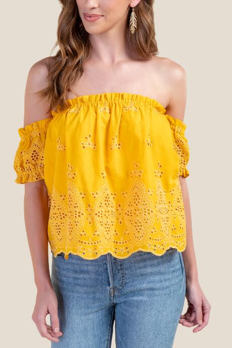 Maggie Off The Shoulder Top