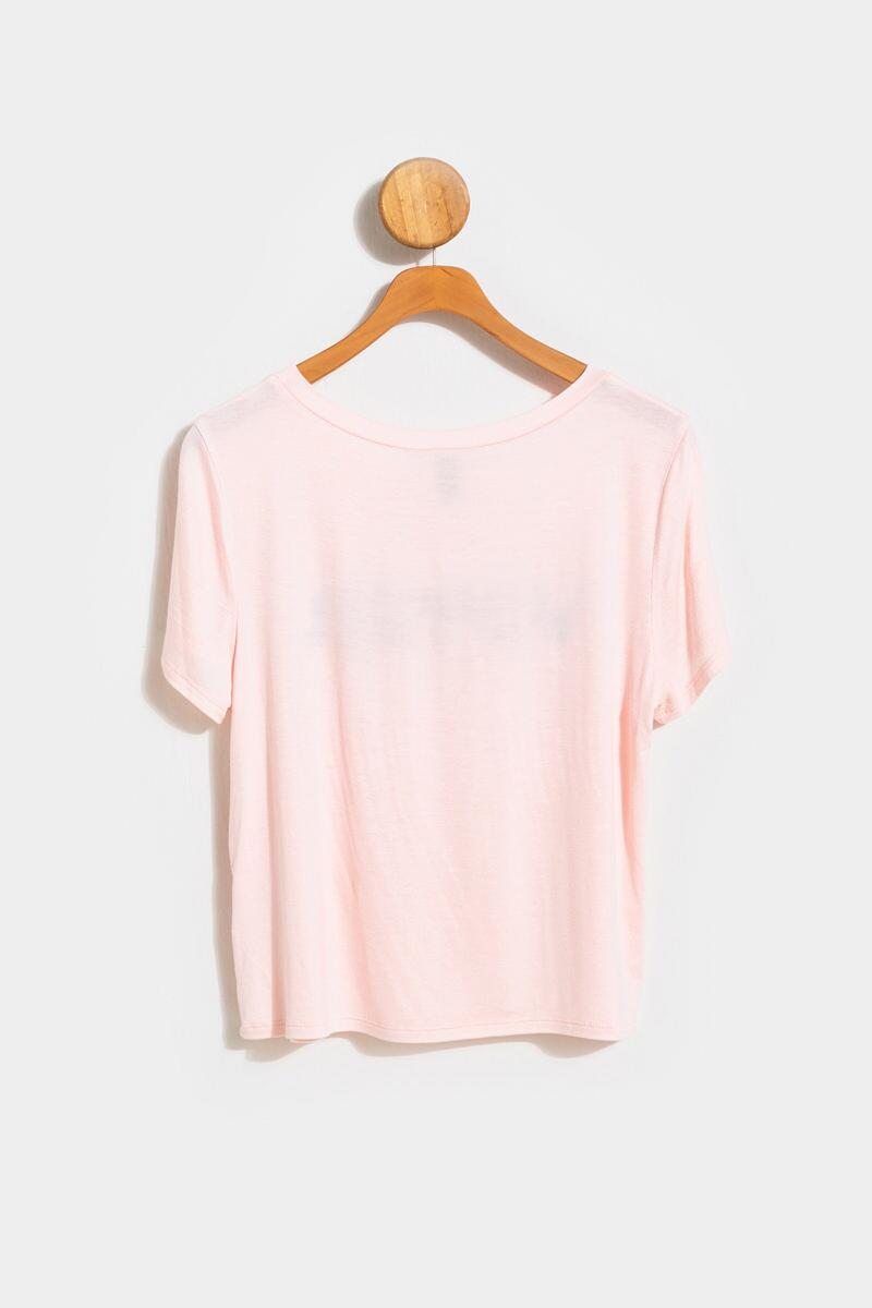 VOTER Floral Tee- Blush 2