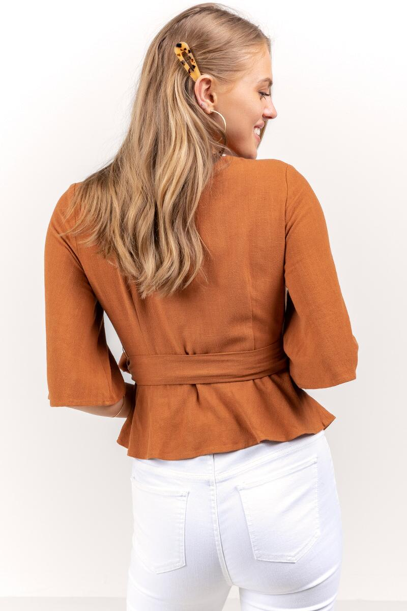 Serenity Wrap Top-  tort-cl2