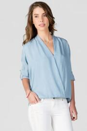 Hamilton Chambray Blouse